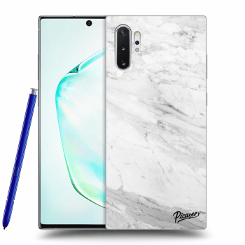 Obal pre Samsung Galaxy Note10+ N975F - White marble