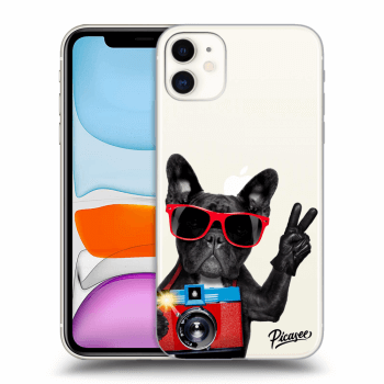 Obal pre Apple iPhone 11 - French Bulldog