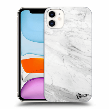 Obal pre Apple iPhone 11 - White marble