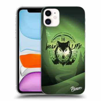 Obal pre Apple iPhone 11 - Wolf life