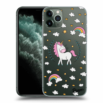 Obal pre Apple iPhone 11 Pro - Unicorn star heaven