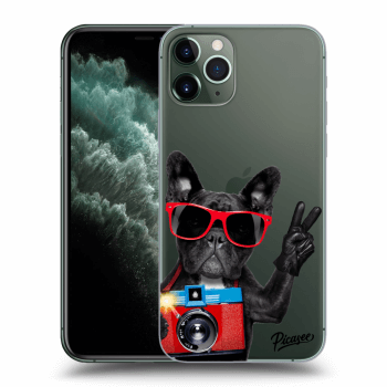 Obal pre Apple iPhone 11 Pro - French Bulldog