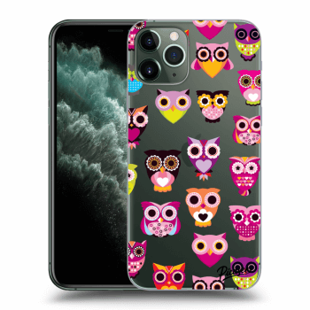 Obal pre Apple iPhone 11 Pro - Owls