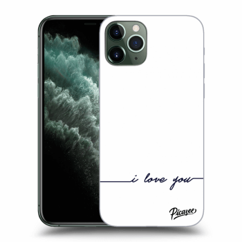 Obal pre Apple iPhone 11 Pro Max - I love you