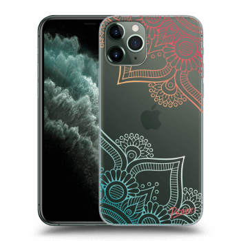 Obal pre Apple iPhone 11 Pro Max - Flowers pattern
