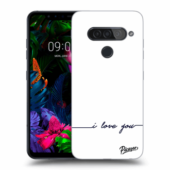 Obal pre LG G8s ThinQ - I love you