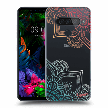 Obal pre LG G8s ThinQ - Flowers pattern