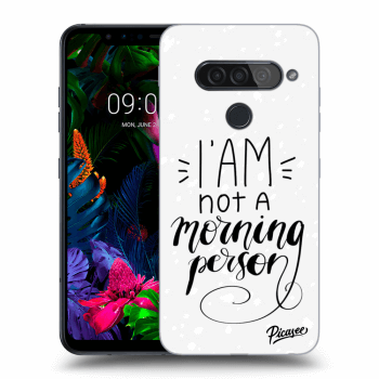 Obal pre LG G8s ThinQ - I am not a morning person