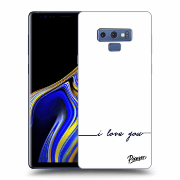 Obal pre Samsung Galaxy Note 9 N960F - I love you