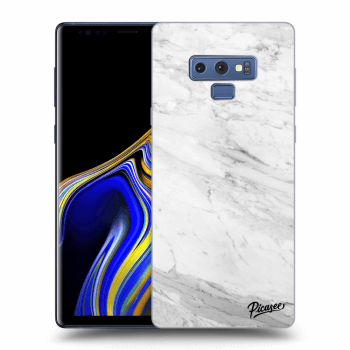 Obal pre Samsung Galaxy Note 9 N960F - White marble