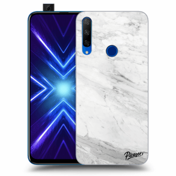 Obal pre Honor 9X - White marble