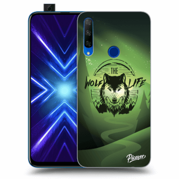 Obal pre Honor 9X - Wolf life