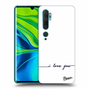 Obal pre Xiaomi Mi Note 10 (Pro) - I love you
