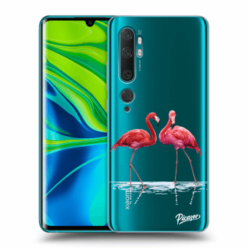Obal pre Xiaomi Mi Note 10 (Pro) - Flamingos couple