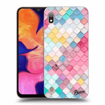 Obal pre Samsung Galaxy A10 A105F - Colorful roof