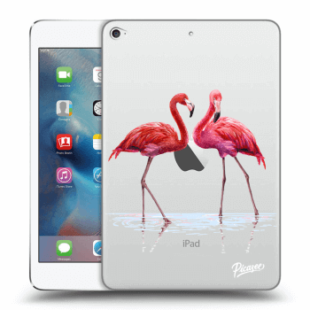 Obal pre Apple iPad mini 4 - Flamingos couple