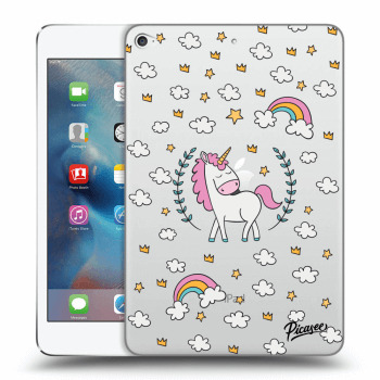 Obal pre Apple iPad mini 4 - Unicorn star heaven