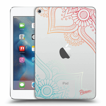 Obal pre Apple iPad mini 4 - Flowers pattern