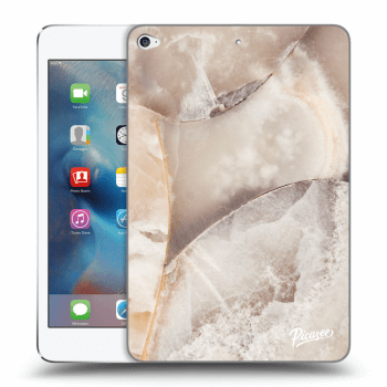 Obal pre Apple iPad mini 4 - Cream marble