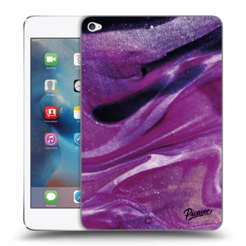 Obal pre Apple iPad mini 4 - Purple glitter
