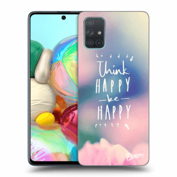 Obal pre Samsung Galaxy A71 A715F - Think happy be happy
