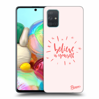 Obal pre Samsung Galaxy A71 A715F - Believe in yourself
