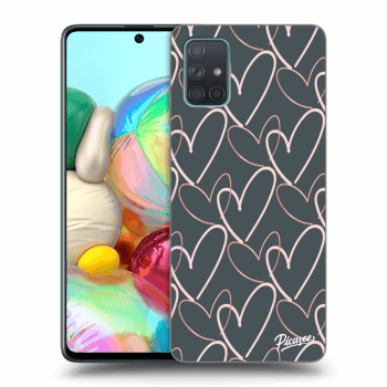 Obal pre Samsung Galaxy A71 A715F - Lots of love