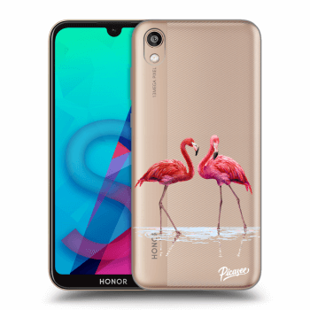 Obal pre Honor 8S - Flamingos couple