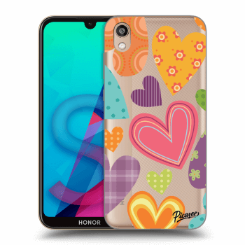 Obal pre Honor 8S - Colored heart