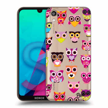 Obal pre Honor 8S - Owls
