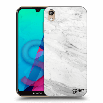 Obal pre Honor 8S - White marble