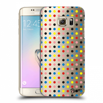 Obal pre Samsung Galaxy S7 Edge G935F - Colorful dots