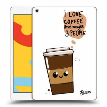 Obal pre Apple iPad 2019 (7. gen) - Cute coffee