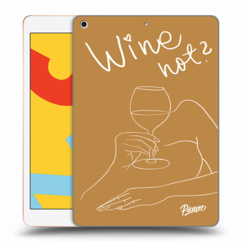 Obal pre Apple iPad 2019 (7. gen) - Wine not