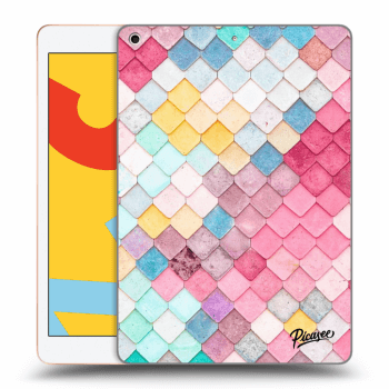 Obal pre Apple iPad 2019 (7. gen) - Colorful roof