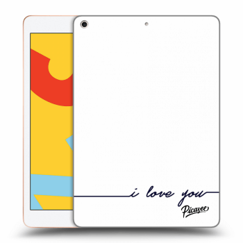 Obal pre Apple iPad 2019 (7. gen) - I love you