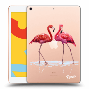 Obal pre Apple iPad 2019 (7. gen) - Flamingos couple