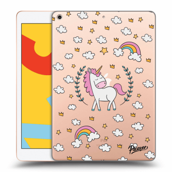 Obal pre Apple iPad 2019 (7. gen) - Unicorn star heaven