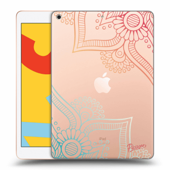 Obal pre Apple iPad 2019 (7. gen) - Flowers pattern