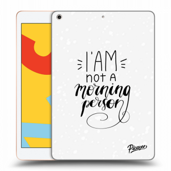 Obal pre Apple iPad 2019 (7. gen) - I am not a morning person