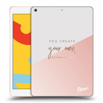 Obal pre Apple iPad 2019 (7. gen) - You create your own opportunities