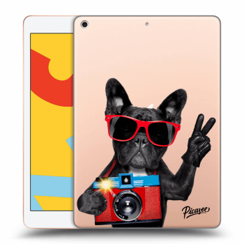 Obal pre Apple iPad 2019 (7. gen) - French Bulldog