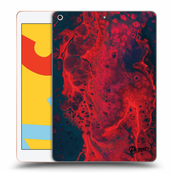 Obal pre Apple iPad 2019 (7. gen) - Organic red