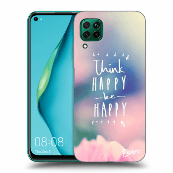 Obal pre Huawei P40 Lite - Think happy be happy