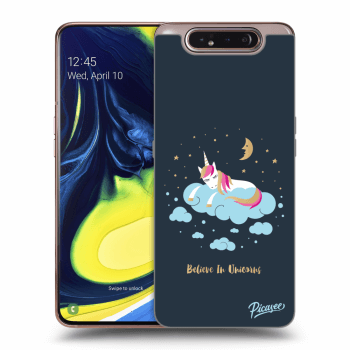 Obal pre Samsung Galaxy A80 A805F - Believe In Unicorns