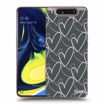 Obal pre Samsung Galaxy A80 A805F - Lots of love