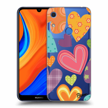 Obal pre Huawei Y6S - Colored heart