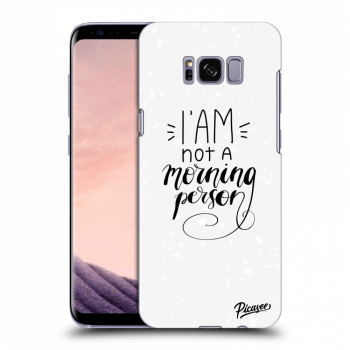 Obal pre Samsung Galaxy S8 G950F - I am not a morning person