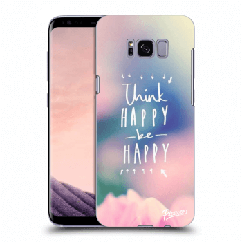 Obal pre Samsung Galaxy S8 G950F - Think happy be happy