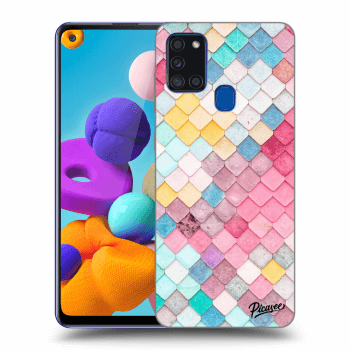 Obal pre Samsung Galaxy A21s - Colorful roof